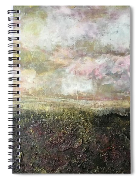 A Prefect Day In The Peaks Spiral Notebook