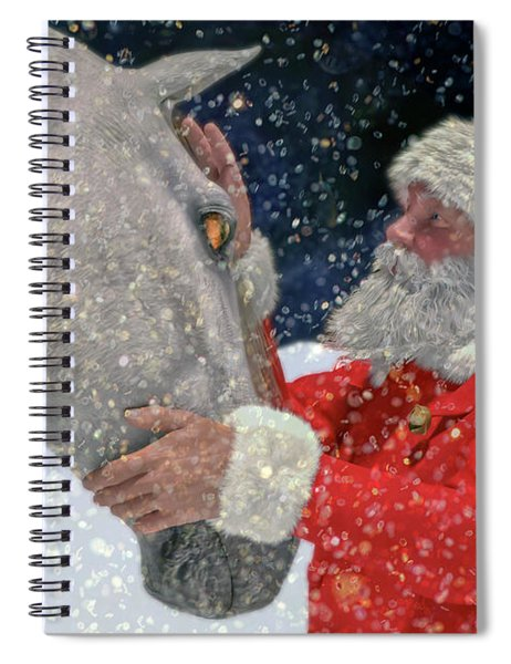 A Present For Santa Spiral Notebook