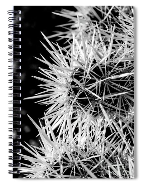 A Prickly Subject Spiral Notebook