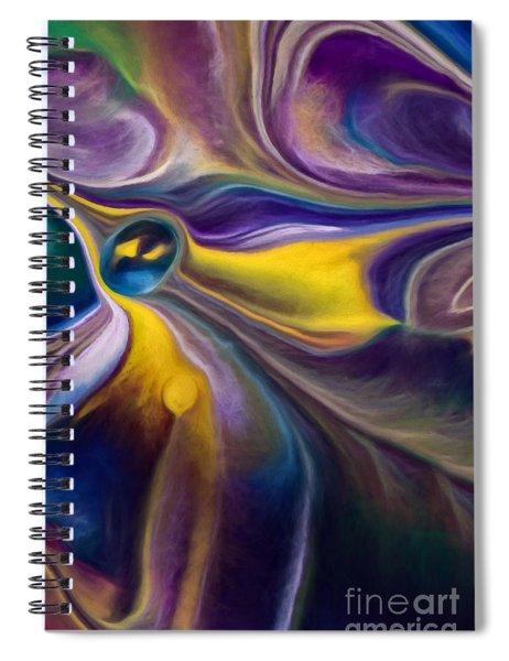 A Question Of Balance Spiral Notebook