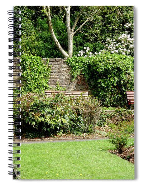 A Quiet Corner To Contemplate  In Colne Spiral Notebook