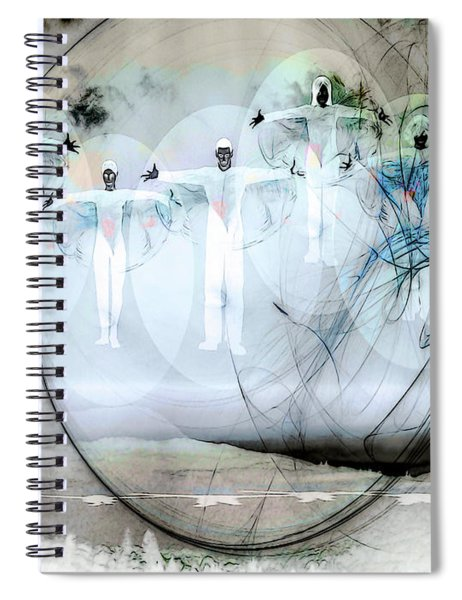 A Rainbow Of Souls Spiral Notebook