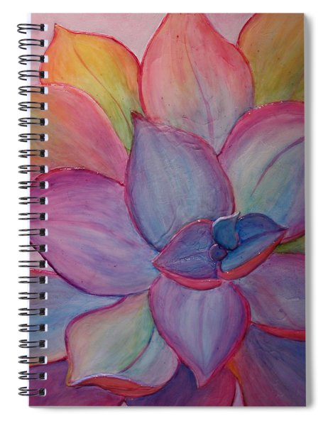 A Reason For Being Spiral Notebook by Sandi Whetzel