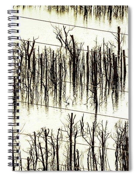 A Reflection Spiral Notebook