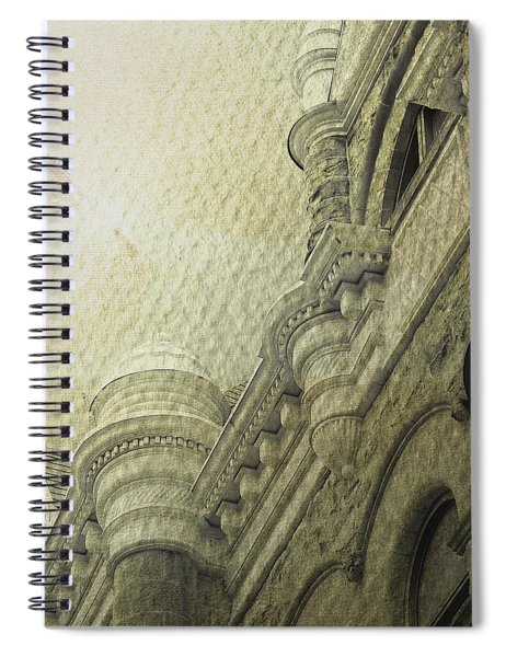 A Rent In The Fabric Of The Organized World Spiral Notebook
