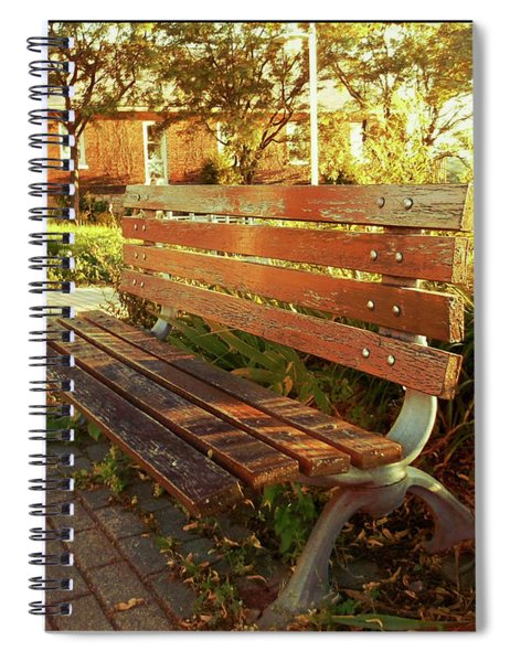 A Restful Respite Spiral Notebook