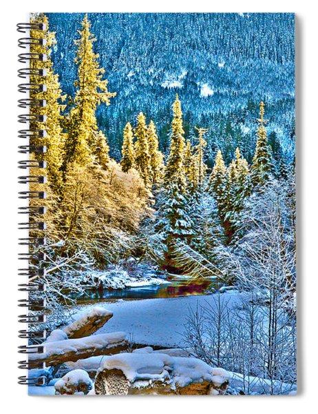A River Runs Down It Spiral Notebook