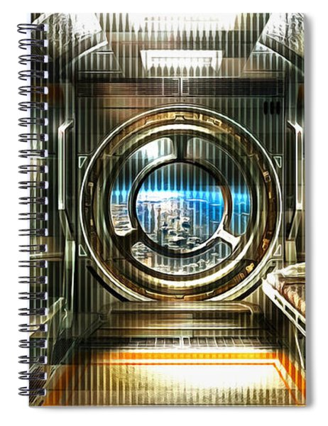 A Room On The Station Spiral Notebook