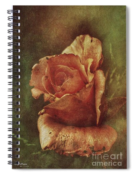 A Rose From Long Ago Spiral Notebook