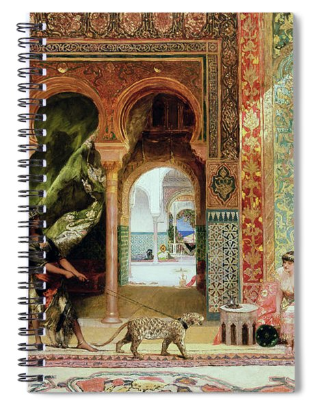 A Royal Palace In Morocco Spiral Notebook