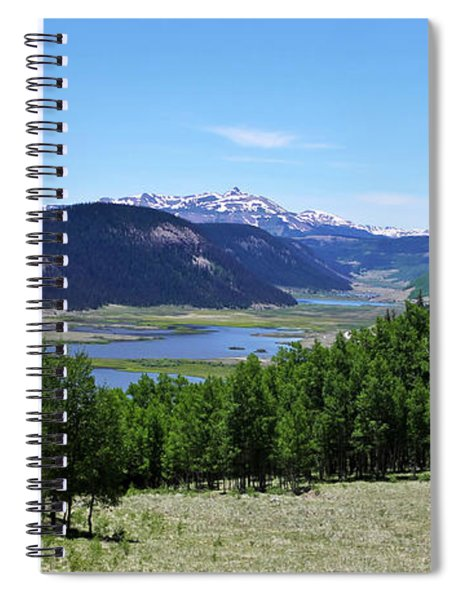 A Scenic View Of The Headwaters Of The Rio Grande River Spiral Notebook
