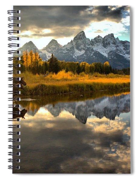 A Schwabacher Sunset Stroll Spiral Notebook
