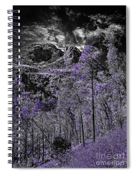 A Season Of Lilac Spiral Notebook