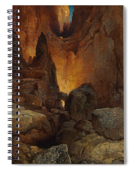 A Side Canyon, Grand Canyon Of Arizona Spiral Notebook