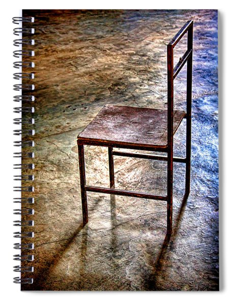 A Simple Chair Spiral Notebook