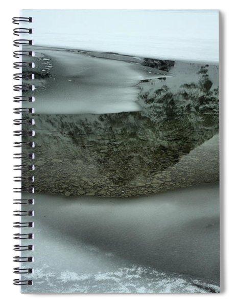 A Slice Of Crowfoot Spiral Notebook