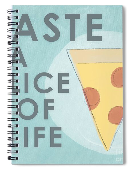 A Slice Of Life Spiral Notebook