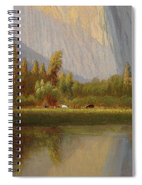 A Small Encampment Spiral Notebook