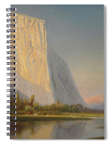A Small Encampment In Yosemite Valley Spiral Notebook