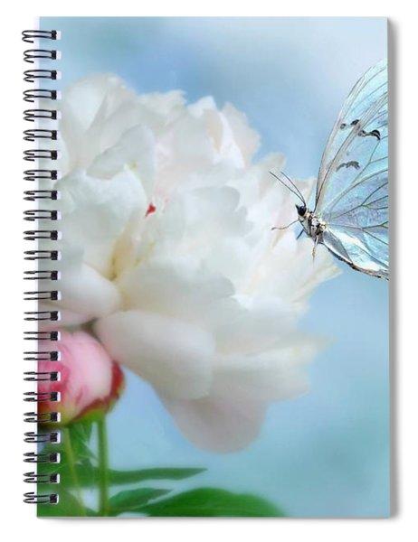 A Soft Landing Spiral Notebook