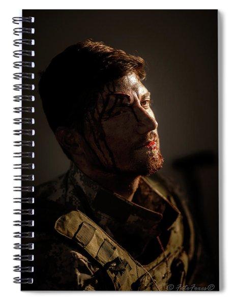 A Soldier Spiral Notebook