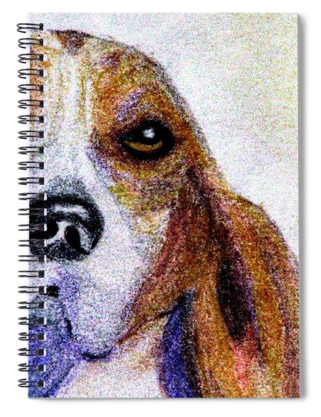 A Soulful Hound Spiral Notebook