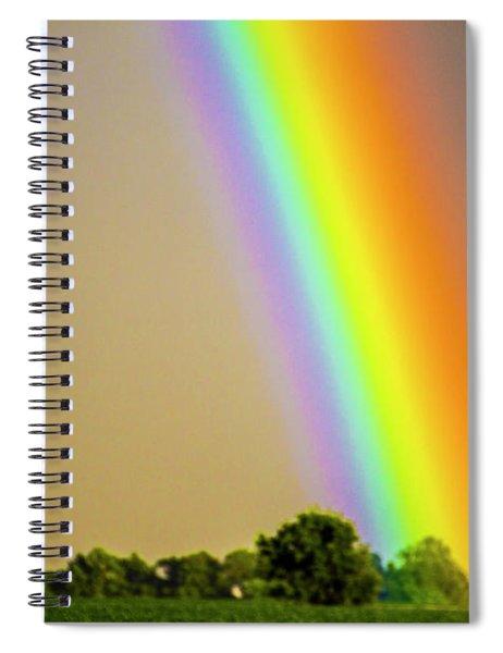 A Spectrum Of Nebraska 002 Spiral Notebook