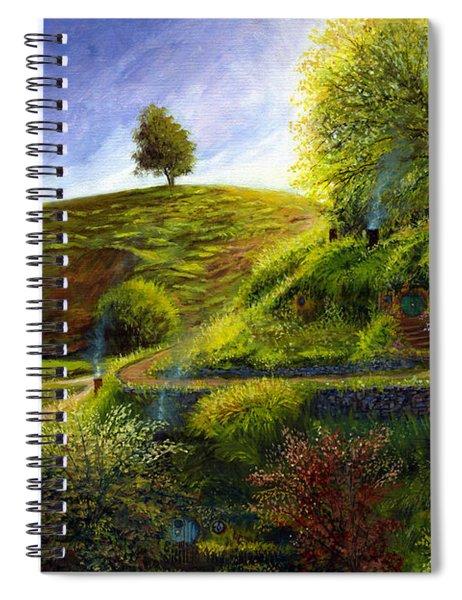 A Spring Morning At Bag End Spiral Notebook