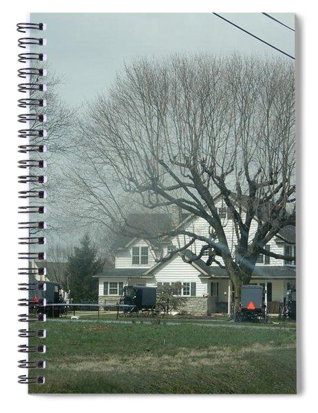 A Springtime Gathering Spiral Notebook