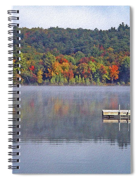A Still And Solitary Time Spiral Notebook