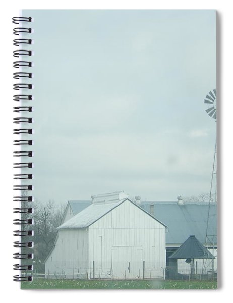 A Storm Moves In Spiral Notebook