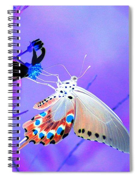 A Strange Butterfly Dream Spiral Notebook