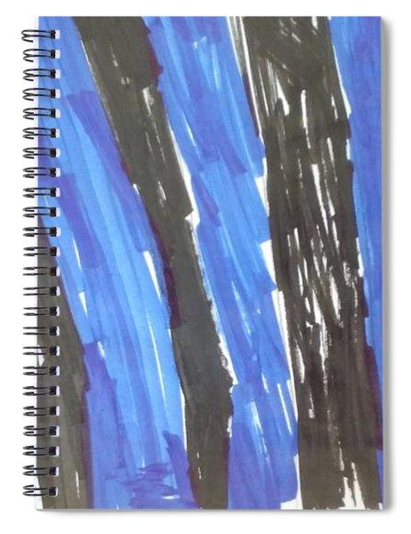 A Strange Picture Spiral Notebook