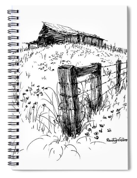 A Strong Fence And Weak Barn Spiral Notebook