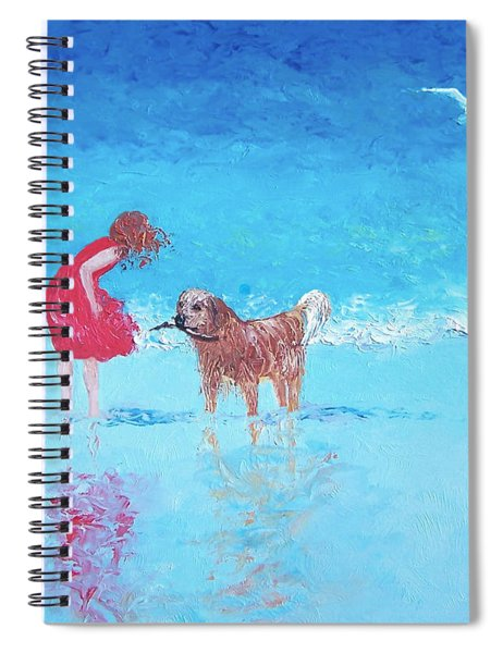 A Summer Breeze Spiral Notebook
