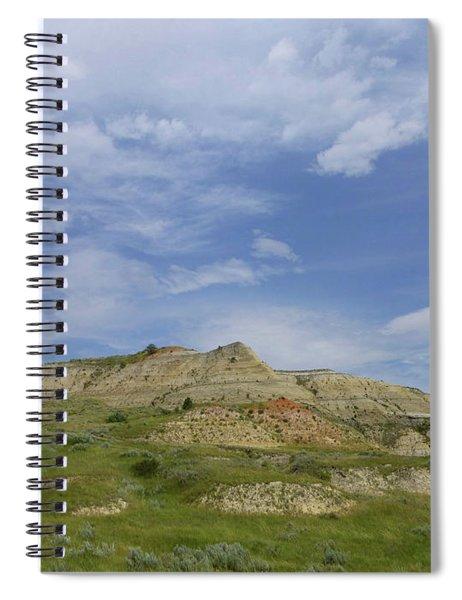 A Summer Day In Dakota Spiral Notebook