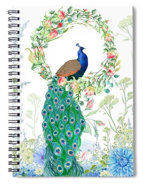A Summer Garden Spiral Notebook