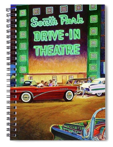 A Summer Remembered Spiral Notebook