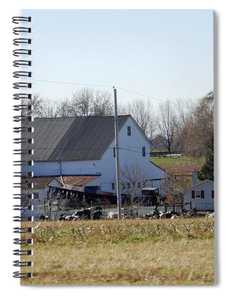A Sunny November Afternoon Spiral Notebook