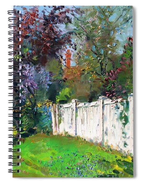 A Sunny Sunday Spiral Notebook