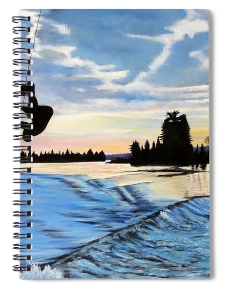 A Sunset Show Spiral Notebook