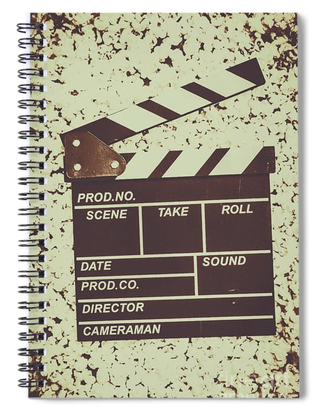 A Take From Old Hollywood Spiral Notebook