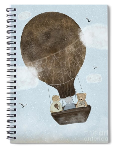 A Teddy Bear Adventure Spiral Notebook