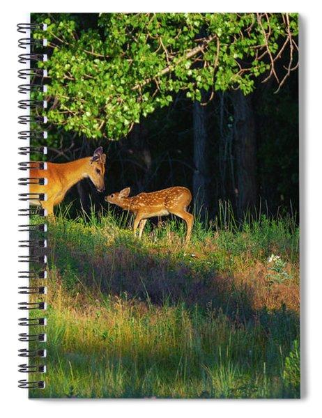 A Tender Moment Spiral Notebook