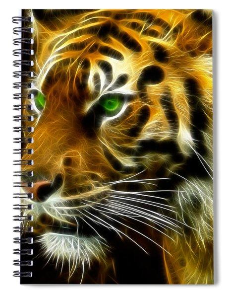 A Tiger's Stare Spiral Notebook