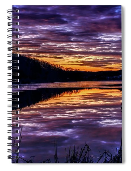A Time Of Reflection Spiral Notebook