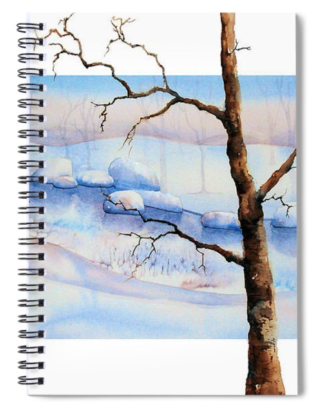 A Tree In Another Dimension Spiral Notebook