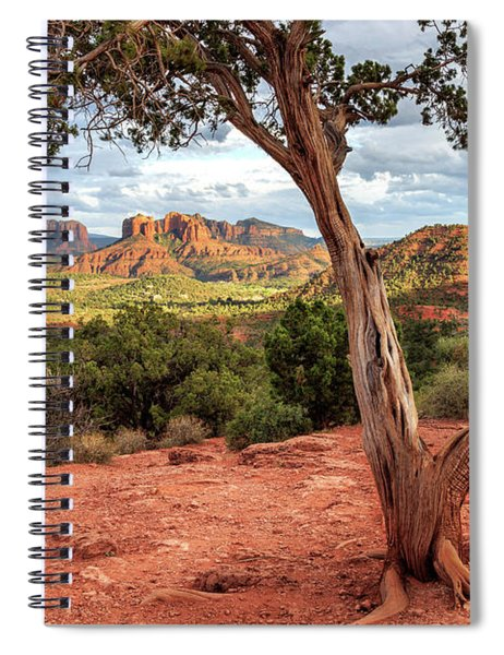 A Tree In Sedona Spiral Notebook