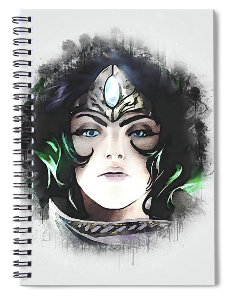 A Tribute To Sivir Spiral Notebook