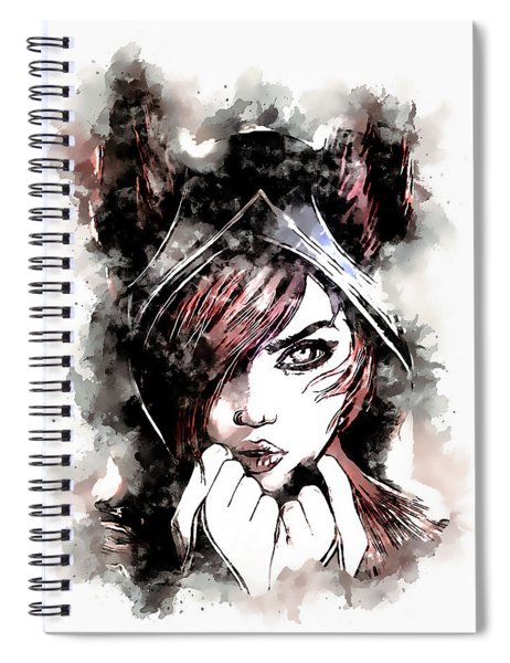 A Tribute To Xayah Spiral Notebook